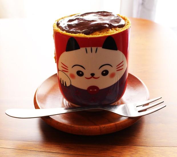 Receita de bolo de caneca, da chef Eliane Kina  (Foto: Divulgação )