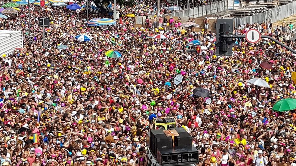 Então, Brilha! se apresenta em festa de pré-carnaval nesta semana em Belo Horizonte (Foto: Raquel Freitas/G1)