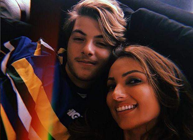 Patrícia Poeta e Felipe (Foto: Reprodução)