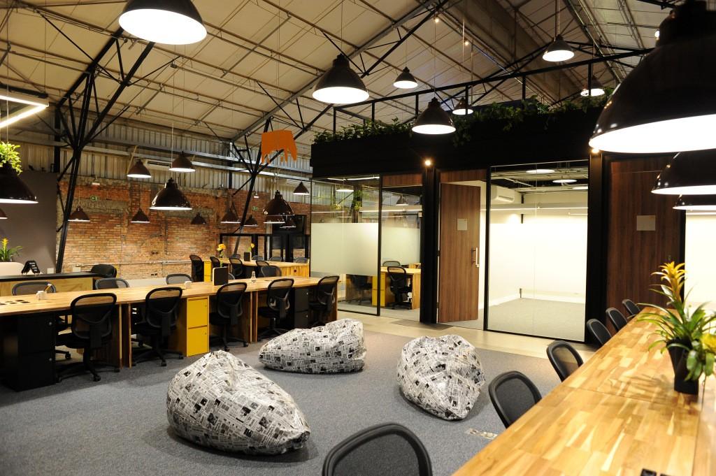Coworking CO.W, espaço utilizado pela Oracle para incubar suas startups aceleradas (Foto: Divulgação)