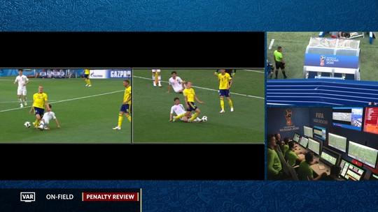 Gol da Suécia! VAR indica pênalti, e Granqvist abre o placar
