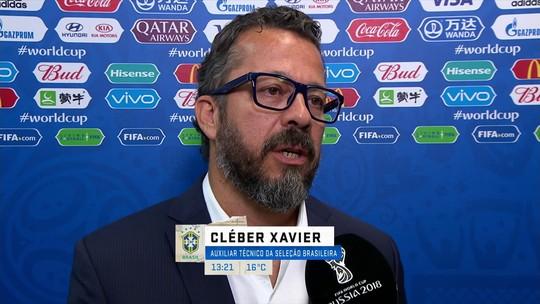 Auxiliar técnico, Cléber Xavier explica o que muda na Seleção para o segundo jogo
