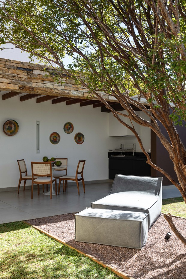 Projeto de casa é criado em função de uma jabuticabeira (Foto: Evelyn Müller)