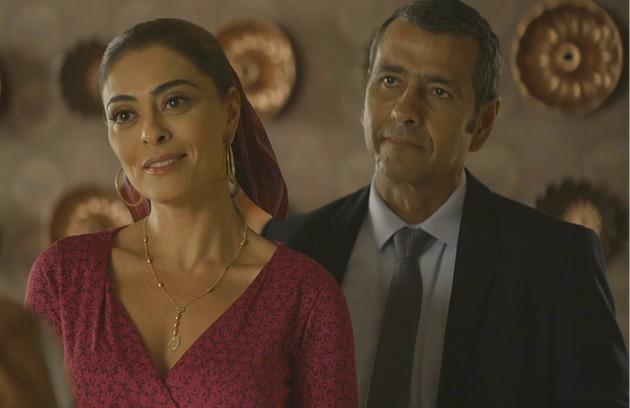 Depois de casados, Maria da Paz e Amadeu serão pais de outra menina, chamada Sol. Após uma passagem de tempo, Josiane sairá da prisão e conhecerá a irmã (Foto: Reprodução)