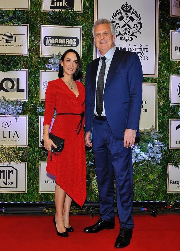 Maria Prata e Pedro Bial (Foto: Divulgação)