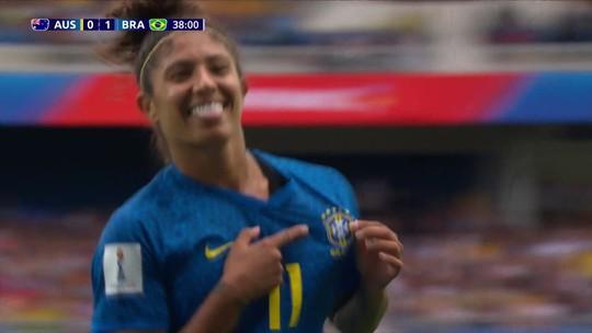 Mesa do Troca de Passes analisa jogada do gol de Cristiane contra a Austrália, pela Copa do Mundo Feminina