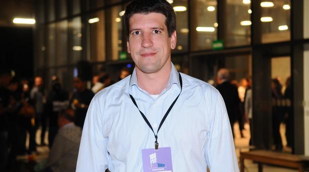 Rafael Clemente, fundador da EloGroup, na premiação 100 Startups to Watch (Foto: Rafael Jota)