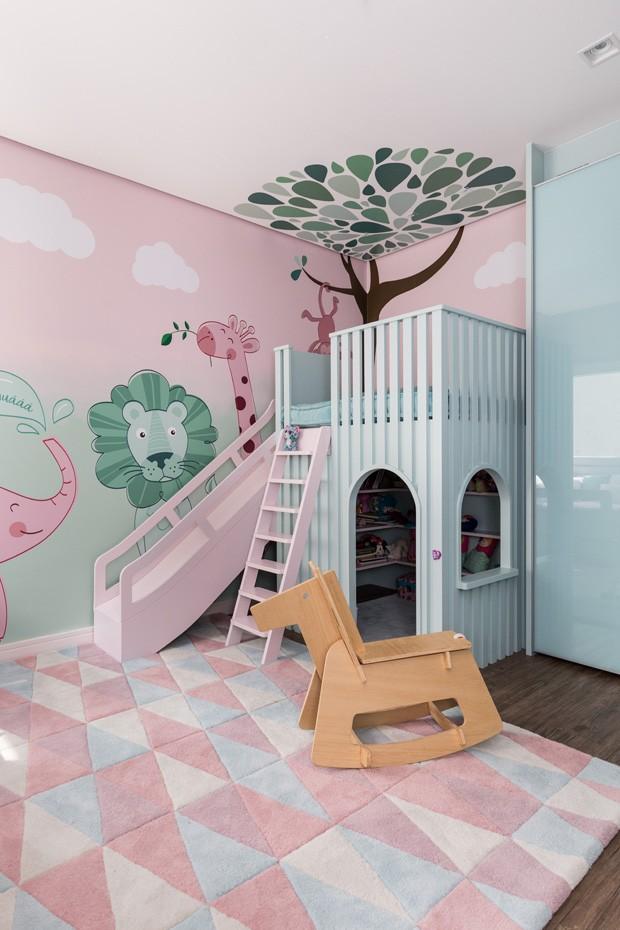 Décor do dia: quarto infantil inspirado em floresta (Foto: ©Marcelo Donadussi)