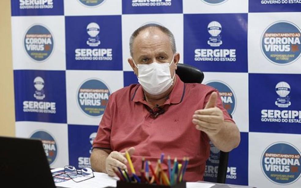 Belivaldo Chagas, governador de Sergipe — Foto: Divulgação/Arquivo