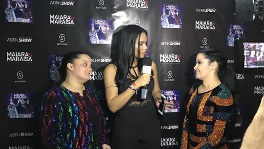 Mayara Motti vira 'Repórter por 1 Dia' e entrevista Munik e a dupla Maiara e Maraísa