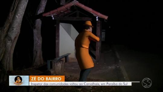 Zé do Bairro volta a Paraíba do Sul para conferir problema de falta de iluminação