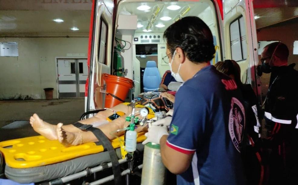 Idosa de 71 anos morre no hospital após ser atropelada em avenida de Rio Branco — Foto: Ithamar Souza/Arquivo pessoal