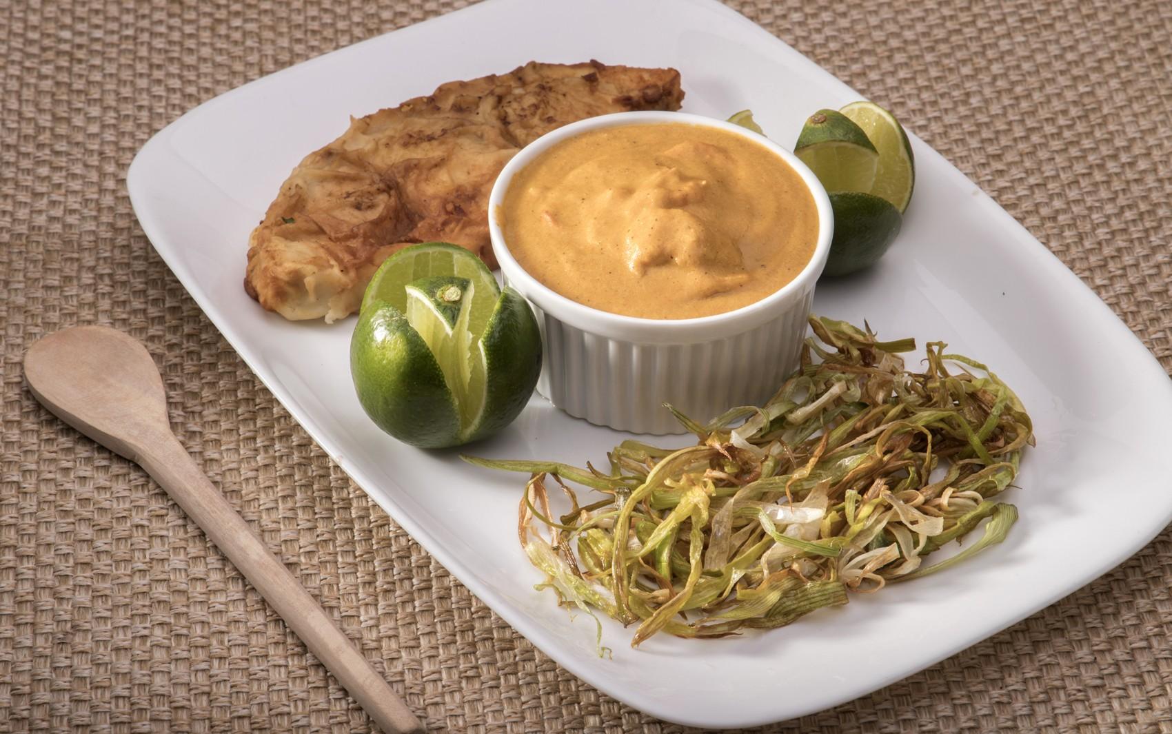 Comida di Buteco: peixe empanado com molho de castanha e camarão é um dos atrativos do festival