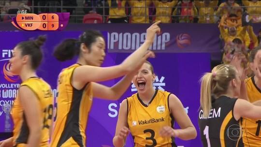 Istambul vence o Minas e é campeão do Mundial de Clubes de vôlei feminino