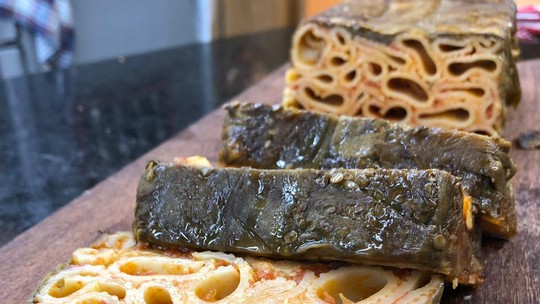 Timbalo de Berinjela do Chef Ravioli