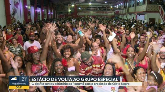 Estácio de Sá é a campeã da Série A do carnaval do Rio de Janeiro em 2019