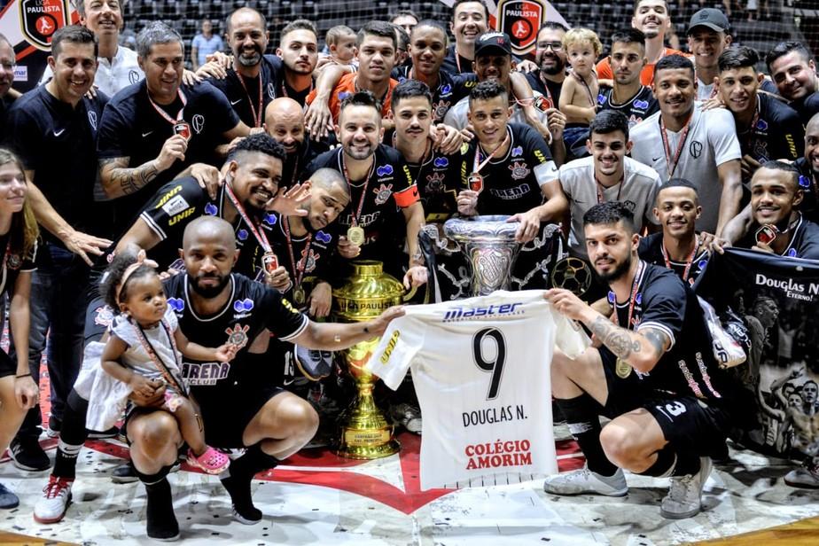 Após briga, Sorocaba abandona final e Corinthians é campeão da Liga Paulista de Futsal