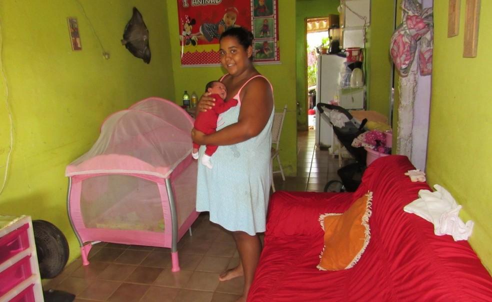 Jamylla mora na casa da mãe (Foto: Ana Clara Marinho/TV Globo )
