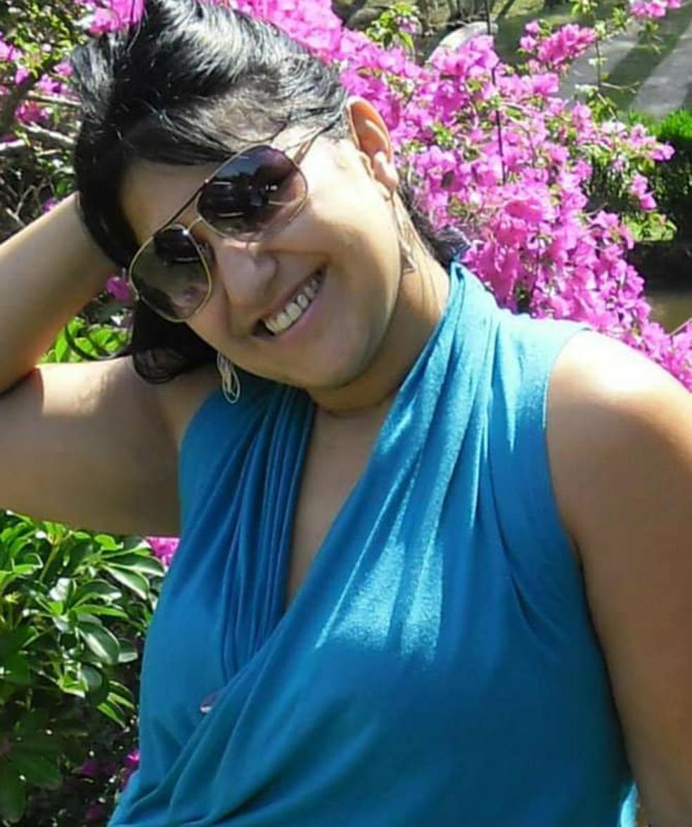 Morte de Márcia é investigada pela Polícia Civil de Guarujá, SP — Foto: Reprodução/Facebook