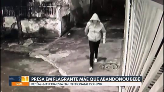 Mãe que abandonou recém-nascida na Candangolândia foi presa em flagrante
