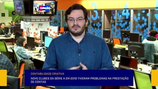 Rodrigo Capelo traz informações sobre as finanças dos clubes brasileiros