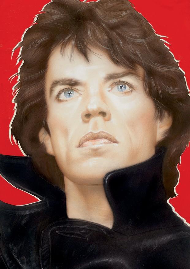 Mick Jagger (fevereiro de 1985) (Foto: Divulgação)