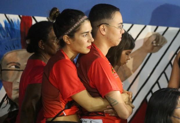 Maria Gadú e Lua Leça (Foto: Wesley Costa/Agnews )