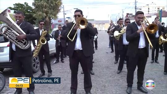 Alvorada festiva da Philarmônica 21de Setembro celebra os 123 anos de Petrolina, PE