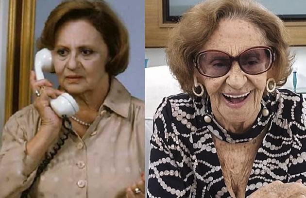 Laura Cardoso viveu Cândida, mãe de Álvaro. Seu último trabalho foi em 'A dona do pedaço' (Foto: Globo)