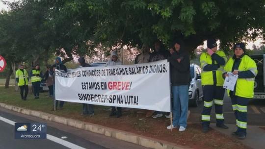 Funcionários operacionais da Intervias entram em greve em Araras, Rio Claro e região