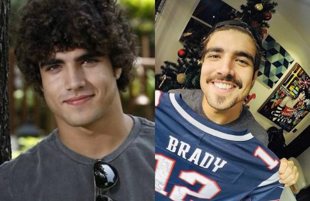 Caio Castro, que voltará ao ar na próxima novela das 21h, 'A dona do pedaço', viveu Bruno, seu primeiro papel na TV (Foto: TV Globo-Reprodução/Instagram)