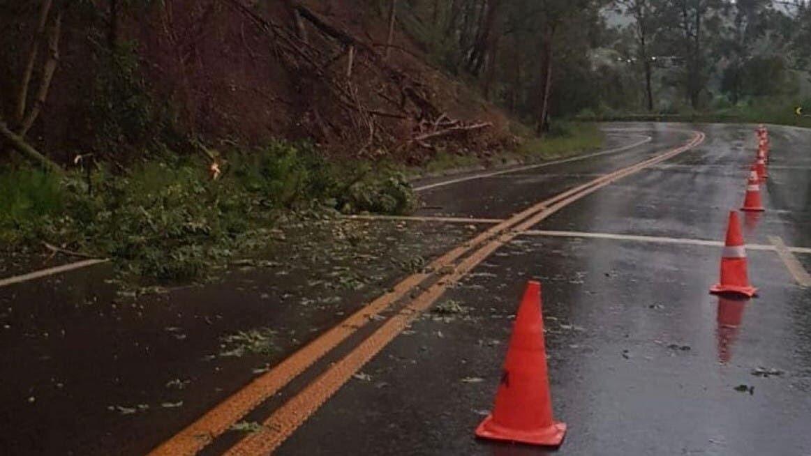 Chuva forte causa estragos em cidades de SC