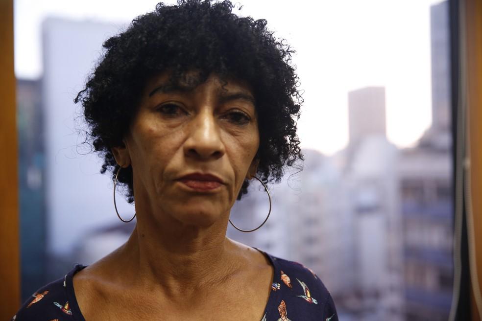 Elisabete da Silva, viúva de Amarildo, falou com G1 sobre desaparecimento do pedreiro (Foto: Jorge Soares / G1)