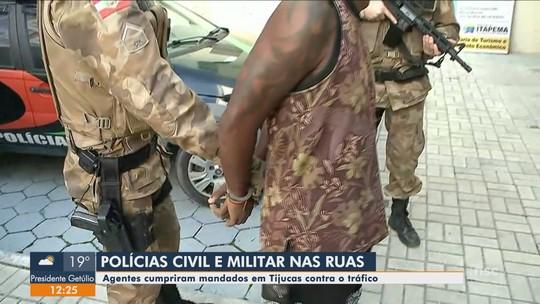 Polícia cumpre mandados de prisão contra organização criminosa em comunidade de Tijucas