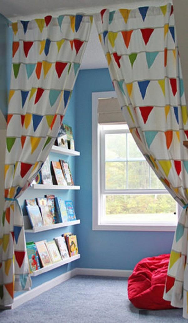 Organizadores cantinho da leitura (Foto: Pinterest)