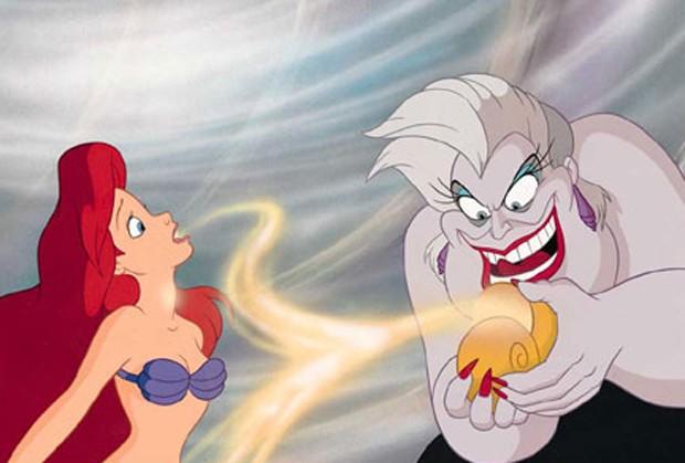 Cena de A Pequena Sereia que Sam Smith fez referência (Foto: Reprodução)