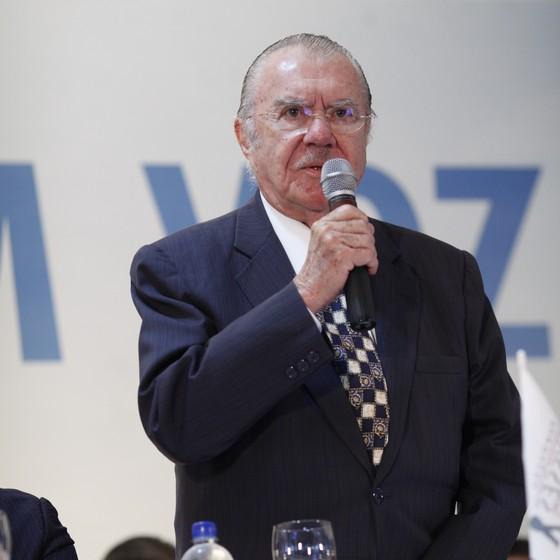 O ex-presidente José Sarney (Foto: PMDB Nacional/Flickr)