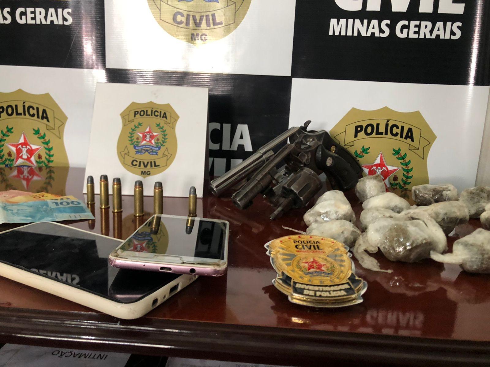 Seis pessoas são presas em operação de combate ao tráfico de drogas em Buritis