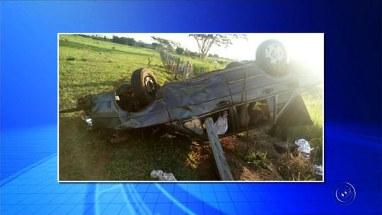 Mulher morre após sofrer acidente de carro em Palmeira d'Oeste; motorista é preso por embriaguez