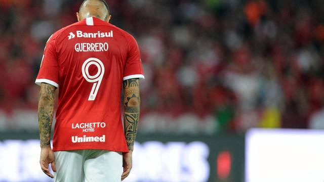 Guerrero não conseguiu sequer levar perigo ao setor defensivo do Flamengo