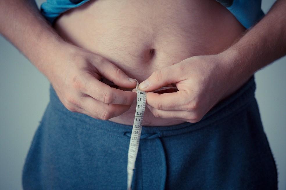 Gordura abdominal: um dos elementos da síndrome metabólica, que pode ser controlada com uma janela de restrição alimentar  — Foto: Michal Jarmoluck para Pixabay