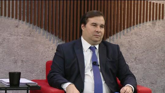 ASSISTA: GloboNews entrevista Rodrigo Maia