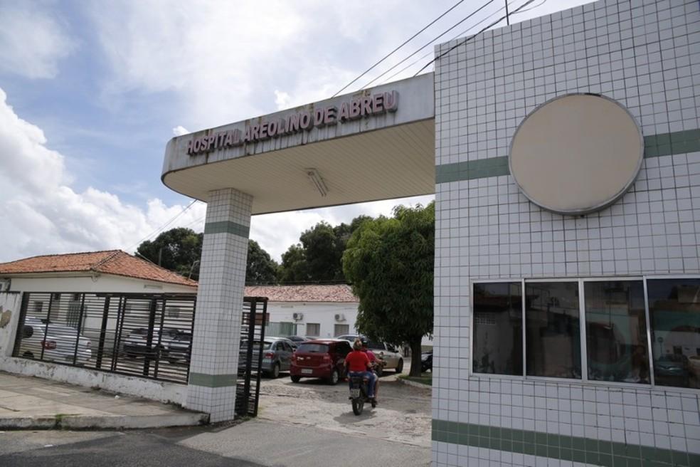 Hospital Areolino de Abreu, em Teresina — Foto: Divulgação/Sesapi