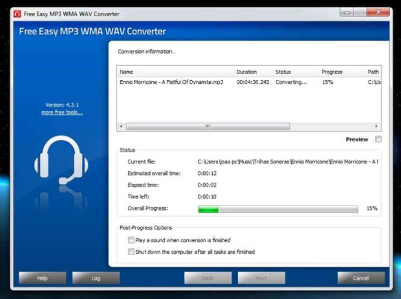 WAV to MP3 (Online & Free) — Convertio
