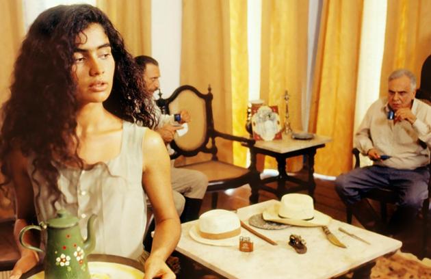 A estreia de Patrícia França na TV foi na minissérie 'Teresa Batista' em 1992 (Foto: TV Globo)