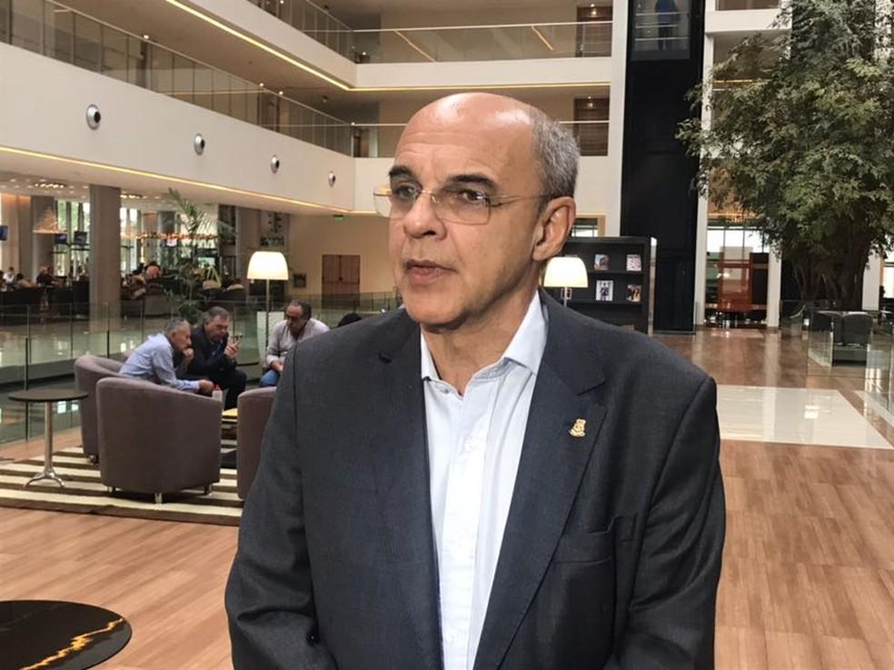 Eduardo Bandeira de Mello falou sobre o caso Guerrero nesta quarta-feira (Foto: Bruno Cassucci)