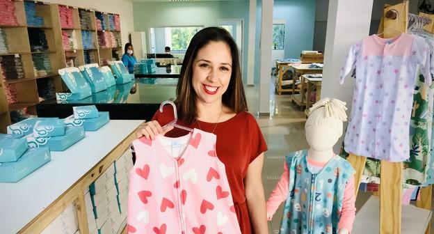 Empreendedora fatura R$ 1,5 milhão com sacos de dormir para bebês