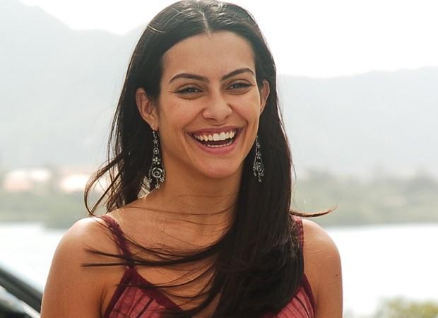 Cleo como Lurdinha na novela América (2005) (Foto: Divulgação/TV Globo)