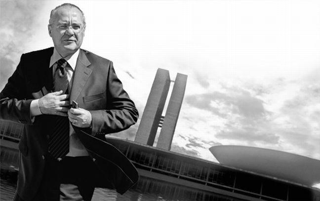 Renan Calheiros, presidente do Senado  (Foto: Arquivo Google)