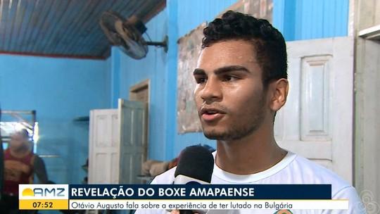 Em Macapá, boxeador fala em experiência após 1ª luta internacional na carreira
